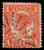 Lot 8096:120: rays on 1d 4-Corners.  Allocated to Cambooya-PO 12/3/1869.