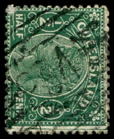 Lot 1716:234: BN on ½d green Lined-Oval [Rated 2R]  Allocated to T.P.O. No. 4 S & W Railway-PO c.1882; closed 12/8/1932.