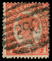 Lot 1727:290: BN on 1d 4-Corners.  Allocated to Crows Nest-PO 1/7/1878.