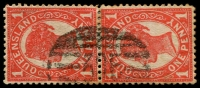 Lot 1751:395: on 1d 4-Corners pair.  Allocated to T.P.O. No. 6 S & W Railway-PO c.1885; closed 12/8/1932.