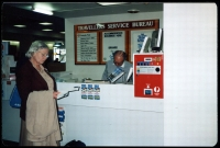 Lot 2090:Adelaide Airport: - colour photo of PO taken c.1985.  PO 16/2/1955.