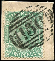 Lot 1822:156: on 2d Sideface.  Allocated to Montagu River-PO 19/9/1873; renamed Montagu PO 30/6/1895.