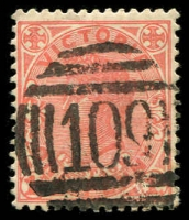 Lot 2460:109: on 1d pink.  Allocated to Taradale-PO 1/3/1856; LPO 31/10/1994.