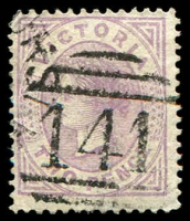 Lot 2470:141: type 1BR on 2d Bell.  Allocated to Penshurst-PO 1/9/1857; LPO 15/10/1993.