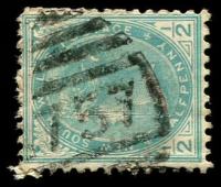 Lot 1183:1757: '1757' BN on ½d green. [Rated 3R]  Allocated to Savernake-PO 1/7/1895; closed 30/7/1994.