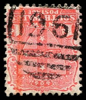 Lot 1211:1961: BN on 1d Arms. [Rated 3R]  Allocated to Pine Hills-PO 1/11/1899; closed 31/1/1916.