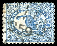 Lot 1056:359: rays (3R16) on 2d Centennial.  Allocated to Junee-PO 1/5/1862; RO 3/9/1878; PO 1/11/1878; renamed Old Junee PO 16/7/1881.