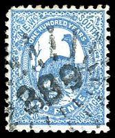 Lot 1074:389: rays (2R20) on 2d Centennial. [Rated 2R]  Allocated to Bobundarah-PO 1/7/1863; closed 31/12/1893.