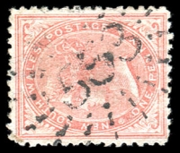 Lot 1167:553: rays (3R16) on 1d DLR.  Allocated to Dight's Forest-PO 1/1/1870; renamed Jindera PO 1/6/1885.