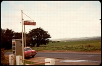 Lot 1970:Boat Harbour: - colour photo of street sign for PO taken c.1981.  PO 1/11/1878.