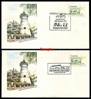 Lot 3980 [2 of 2]:Apo 1982 Anpex set of seven daily covers.