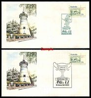Lot 3980 [1 of 2]:Apo 1982 Anpex set of seven daily covers.