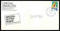 Lot 3525:Ciba 1975 18c PNG Independence tied by Chatswood FD cancel