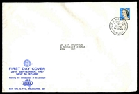 Lot 761:Sigma 1967 5c Coil on illustrated cover. GPO Melbourne FDI cancel of 29SEP67.
