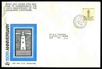 Lot 4439:Sigma 1968 5c Macquarie Lighthouse on illustrated cover with lighthouse in frame. GPO Melbourne FDI cancel of 27NOV68.