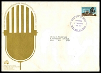 Lot 4455:Sigma 1973 7c Radio Broadcasting on illustrated cover. Chatswood FDI cancel of 21NOV1973.