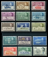 Lot 17113:1963-69 Pictorials: SG #1-15 complete set to 1st £1, Cat £145. (15)