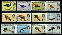 Lot 20442:1962 Birds SG #202-13 complete set of 12, Cat £80.
