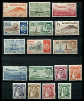 Lot 3872:1961 New Currency SG #146-62 complete set to 1d, Cat £32.