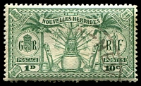 Lot 23410:1925 Dual Currency SG #F43 10c green.