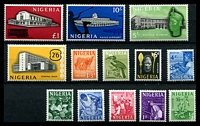 Lot 4255:1961 Pictorials SG #89-101 set of 13, Cat £27.