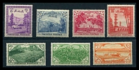 Lot 26373:1954 7th Anniv of Independence SG #65-71 set of 7, Cat £22. (7)