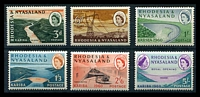 Lot 4105:1960 Kariba Hydroelectric Scheme SG #32-7 complete set of 6, Cat £20.