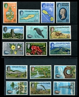 Lot 4369:1963-69 Pictorials SG #129-44 set of 16, Cat £22.