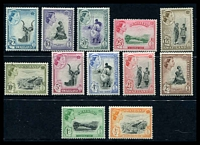 Lot 4188:1961 Decimal Currency SG #78-89 complete set of 12, Cat £45.