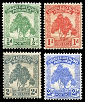 Lot 20362:1911 Pandanus SG #8-11 complete set, Cat £18. (4)