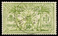 Lot 23404:1913 Wmk RF SG #F28 50c sage-green, Cat £35.
