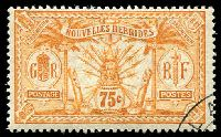 Lot 3954:1913 Wmk RF SG #F29 75c orange, Cat £42.