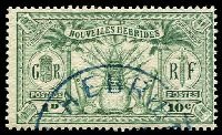 Lot 4042:1925 Multi Currency SG #F43 10c (1d) green.