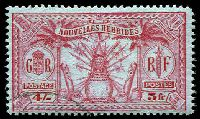 Lot 3959:1925 Multi Currency SG #F52 5f (4/-) carmine/green.