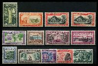 Lot 3970:1940 Centenary SG #613-25 complete set, Cat £65. (13)