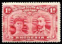 Lot 4084:1910-13 Double Heads Perf 14 SG #125 1d rose-red, Cat £50.