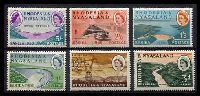 Lot 23853:1960 Kariba Hydroelectric Scheme SG #32-7 complete set of 6, Cat £20.
