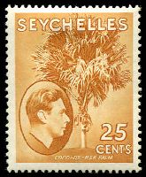 Lot 4351:1938-49 KGVI Pictorials SG #141 25c brown-ochre, Cat £50.
