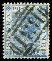 Lot 24215:1883 QV Wmk Crown/CA Perf 14 SG #26 4d blue, Cat £28.