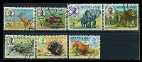 Lot 4192 [2 of 2]:1969-72 Animals SG #161-75 set of 15, Cat £25.