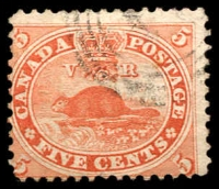 Lot 3758:1859 Decimal Currency SG #31 5c pale red, Cat £20.