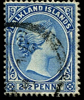 Lot 3707:1891-1902 Wmk Crown/CA SG #30c 2½d deep ultramarine.