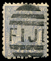 Lot 3444:1891-1902 New Designs Perf 11x10 SG #85 5d ultramarine,