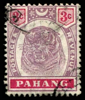 Lot 24720 [3 of 3]:1895-99 Tiger SG #14-6 3c, 4c & 5c, Cat £42. (3)