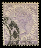 Lot 3899 [2 of 2]:1883-91 New Colours SG #66,66a 6c lilac & 6c violet, Cat £37. (2)