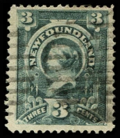 Lot 25748 [2 of 2]:1890 3c SG #55-6 deep slate & slate-grey (2)