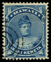 Lot 26417:1882 Portraits Sc #37 1c blue.