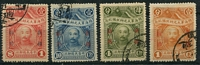 Lot 3309:1928 Chang Tso-Lin SG #71-4 set, Cat £210. (4)