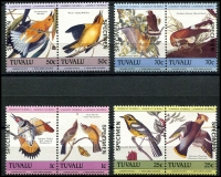 Lot 4510:1985 Birds SG #276s-83s set of 8 in se-tenant pairs, optd 'SPECIMEN'. (8)