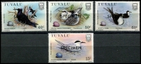 Lot 4511:1985 Birds SG #284s-7s set of 4, optd 'SPECIMEN'. (4)